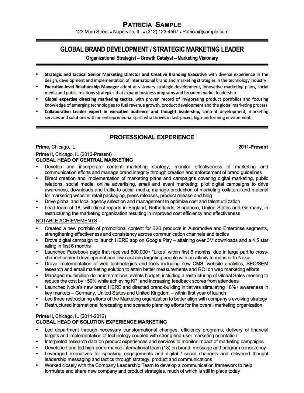 Chicago Resume Writing Services