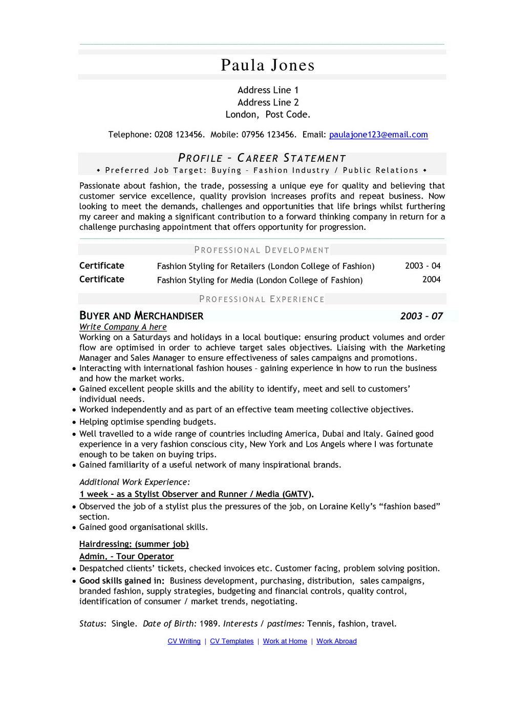 Create Resume Online Free Download