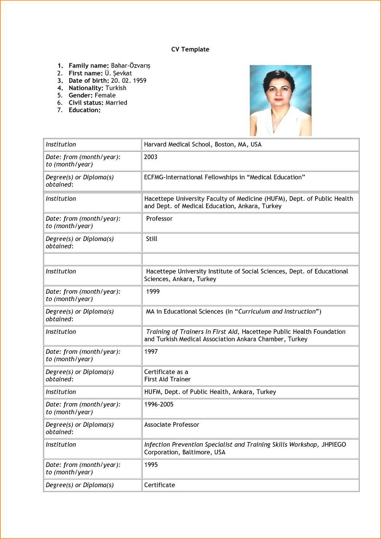 Electrician Job Application Form