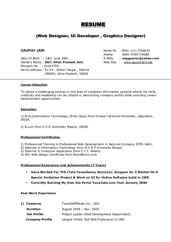 Free Resume Builder Printable Download