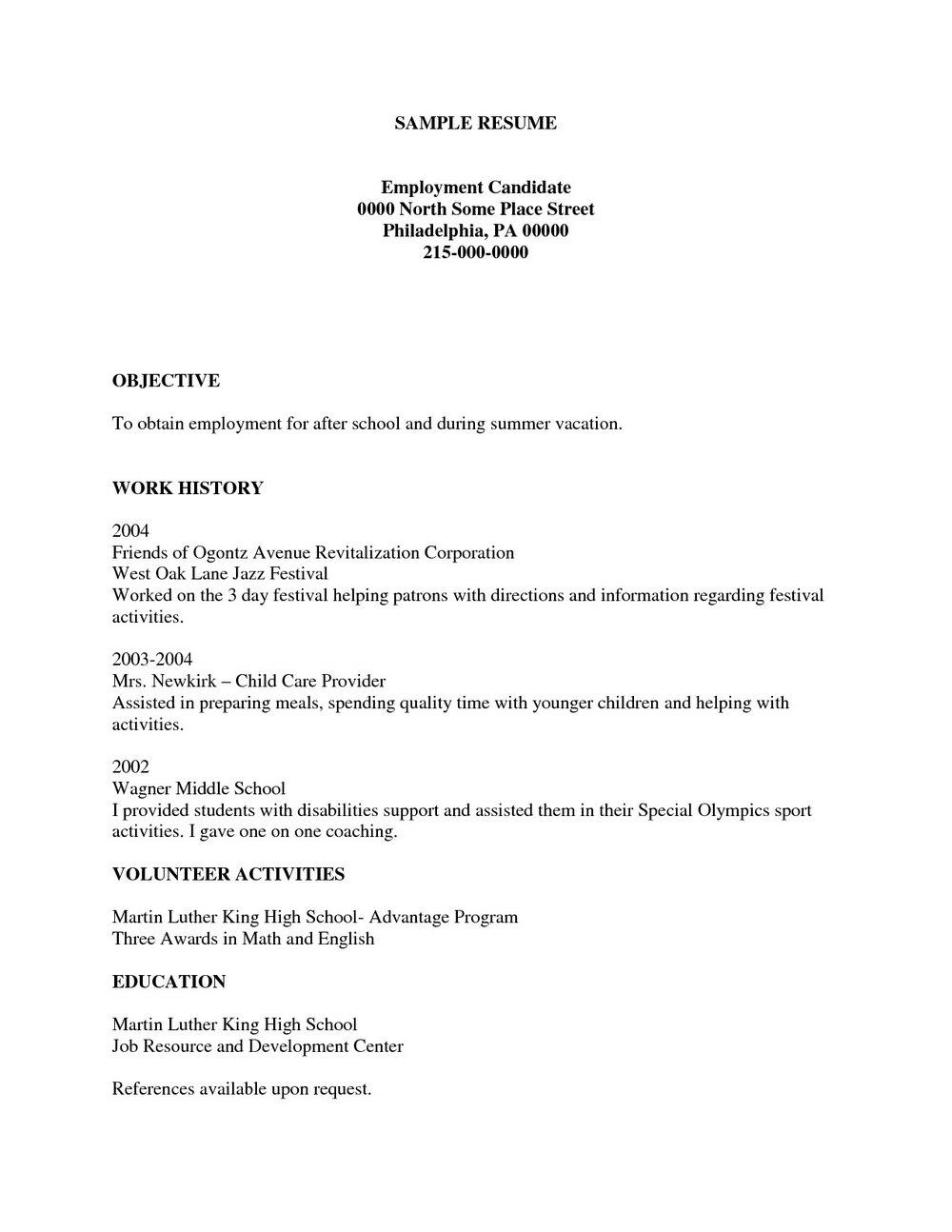 Free Resume Builders Download