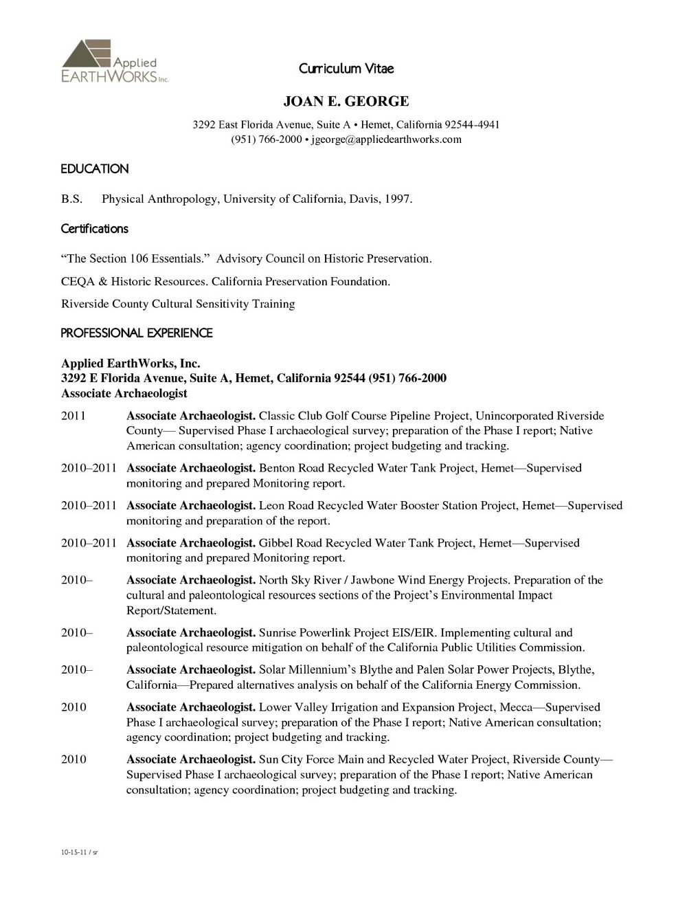 Free Resume Template Pdf Download
