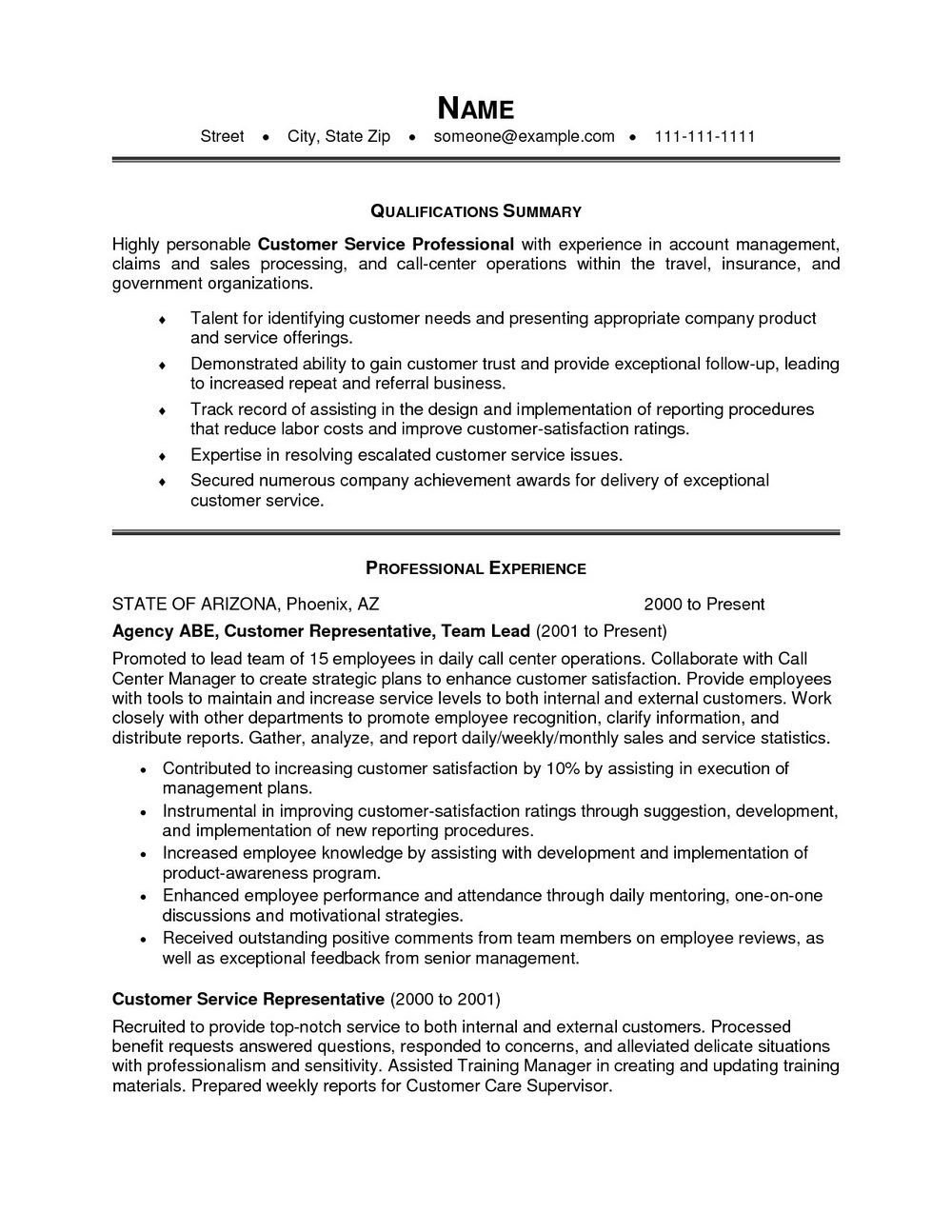 Professional Resume Writers Los Angeles