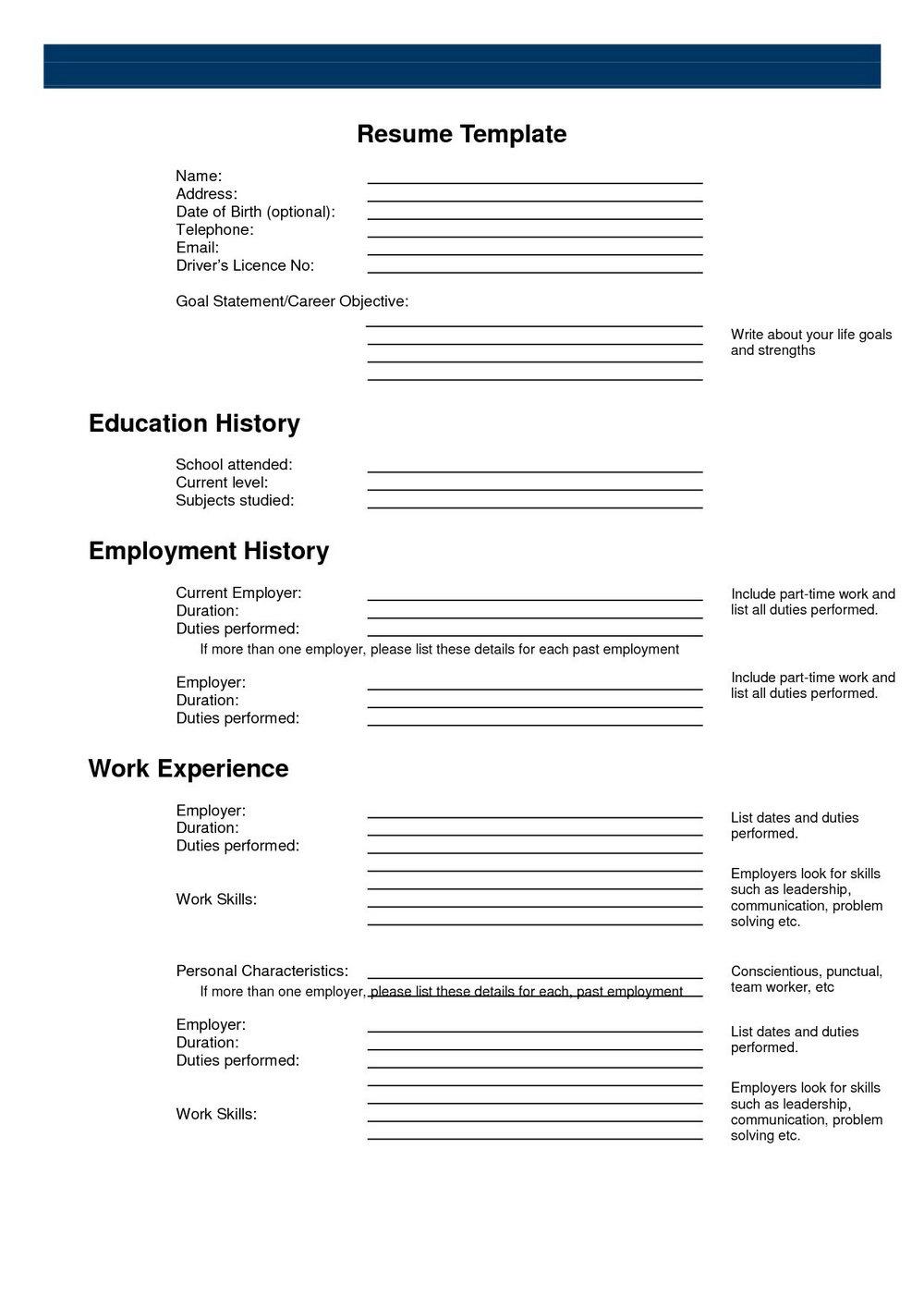 Resume Builder Software Download Free