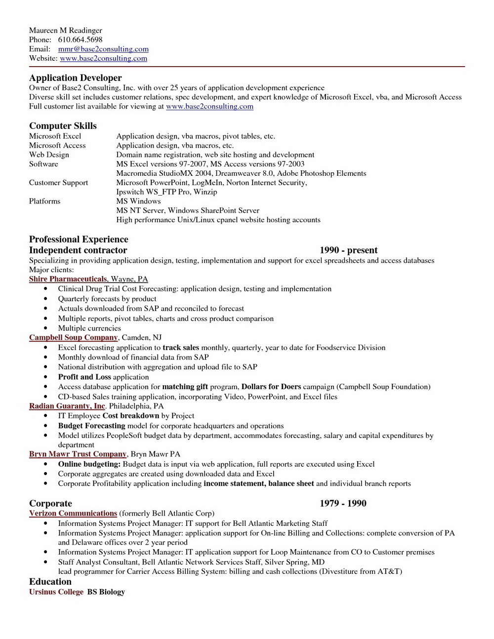 Resume Format For Freshers Free Download In Ms Word