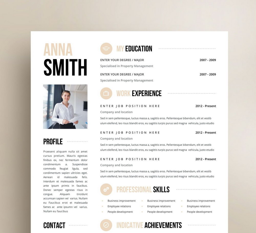 Resume Templates For Machine Operator