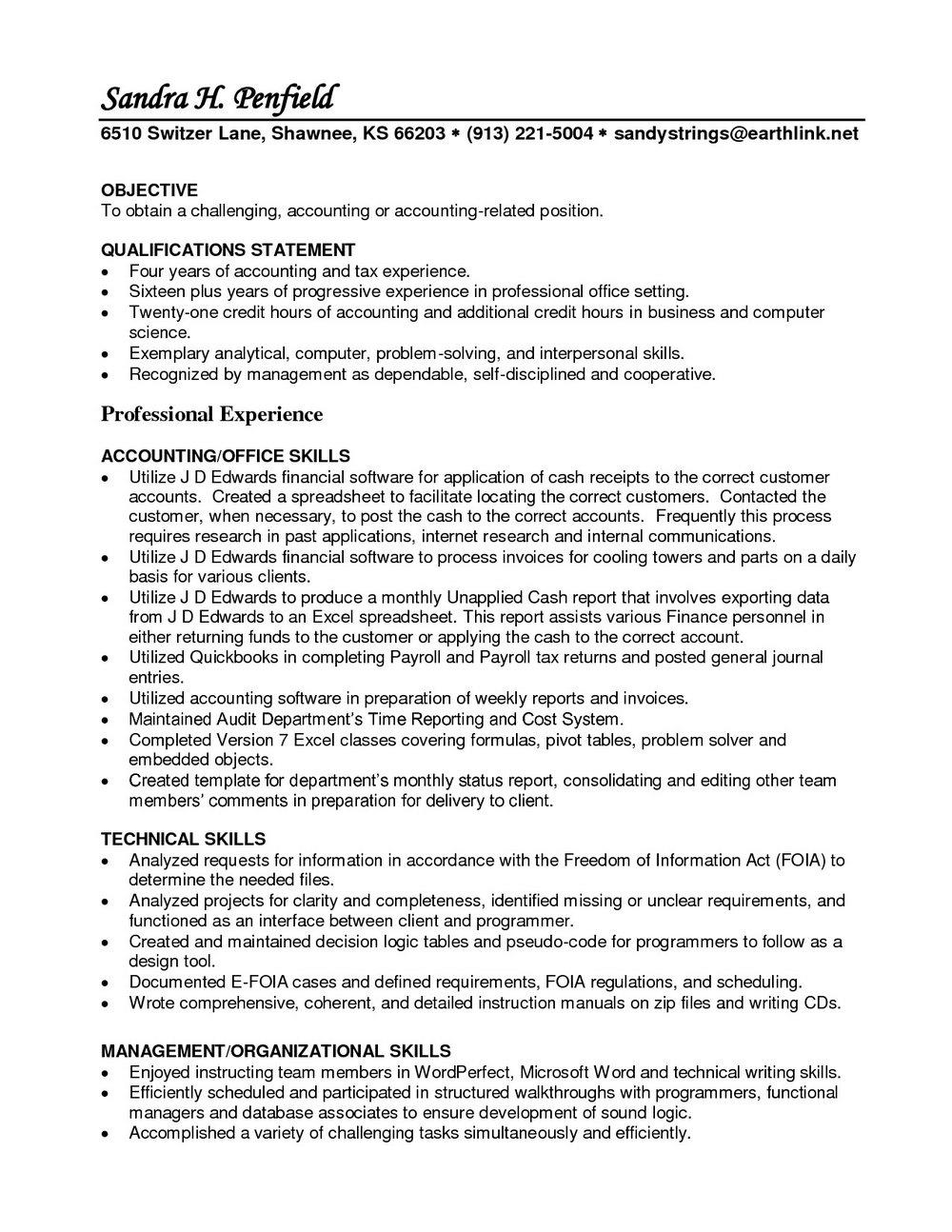 Resumes For Registered Nurses