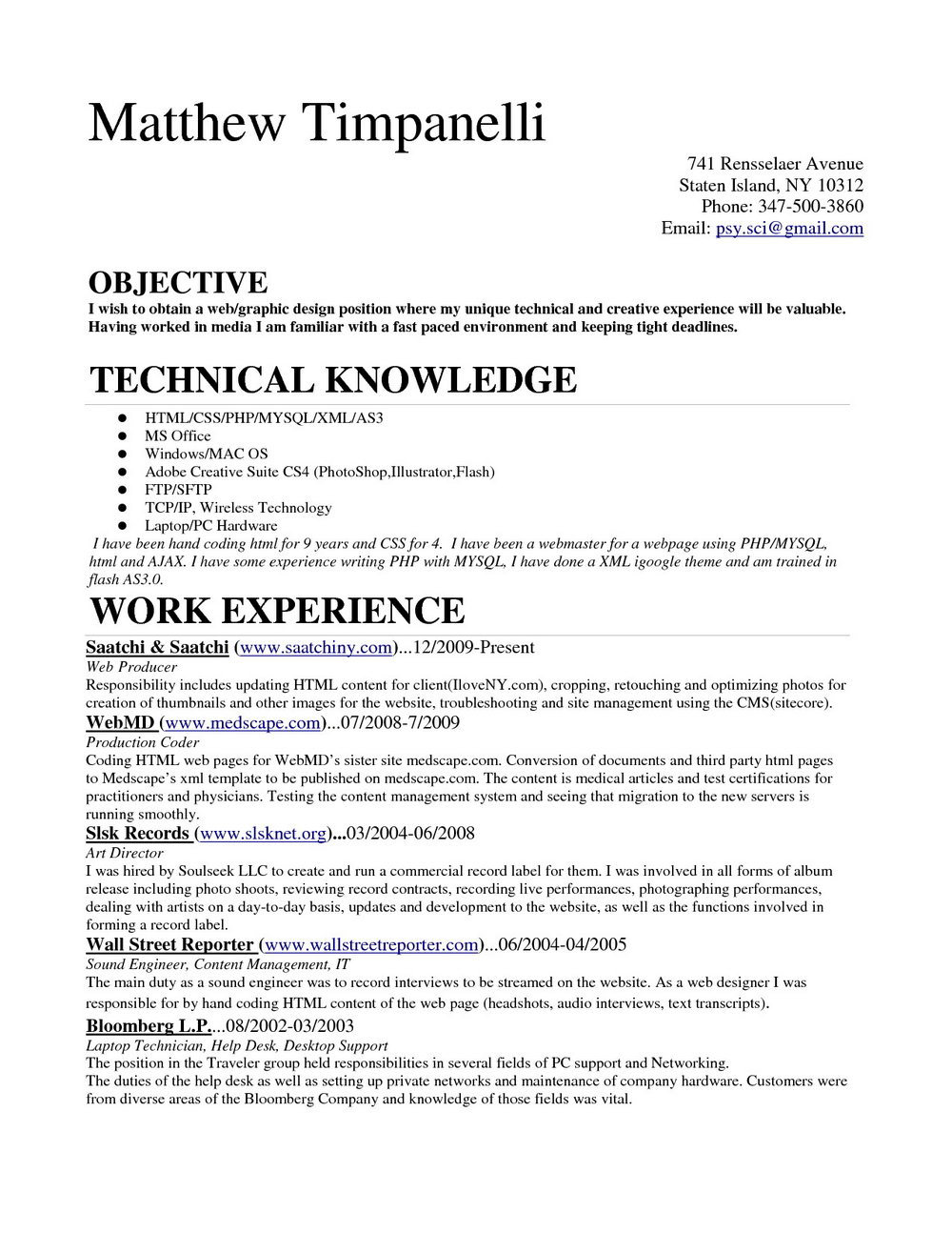 Sample Medical Resume Templates Templates 158305 Resume