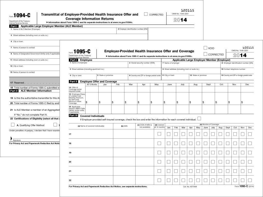 1095 C Form Codes