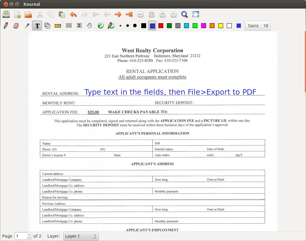 Create A Fillable Form In Pdf