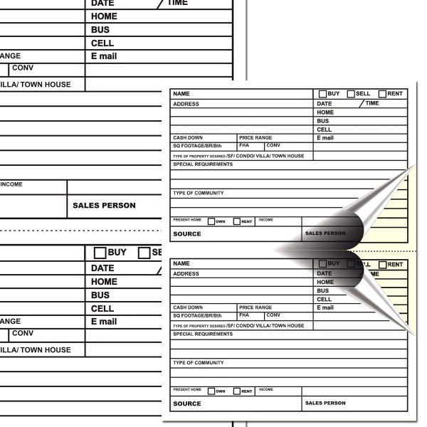 Custom Carbonless Forms Vistaprint