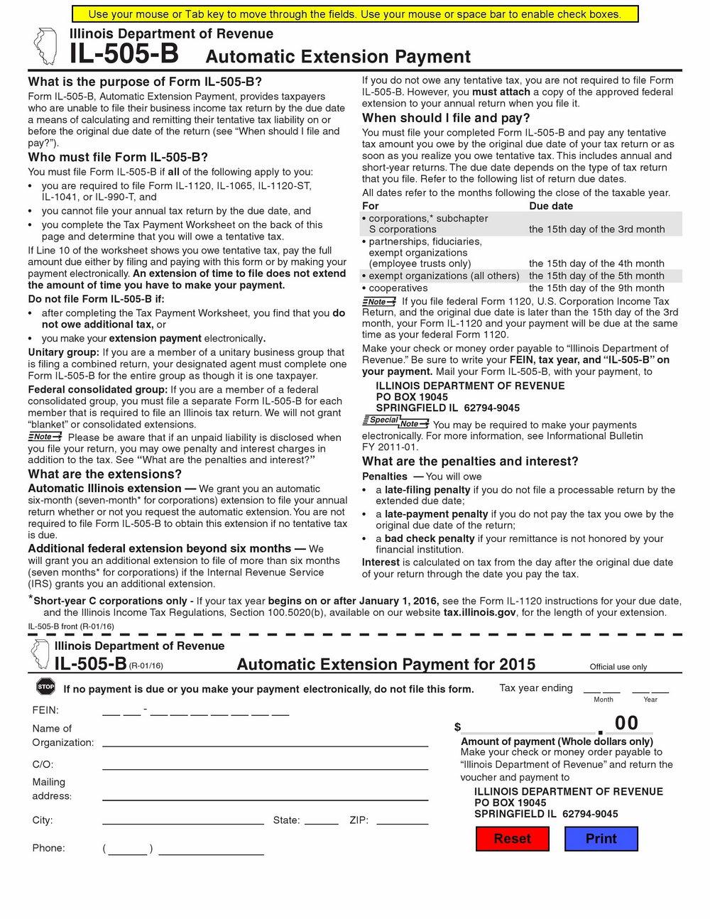 Ez Tax Form