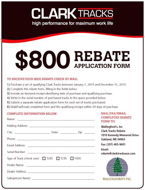Goodyear Rebate Form July 2017