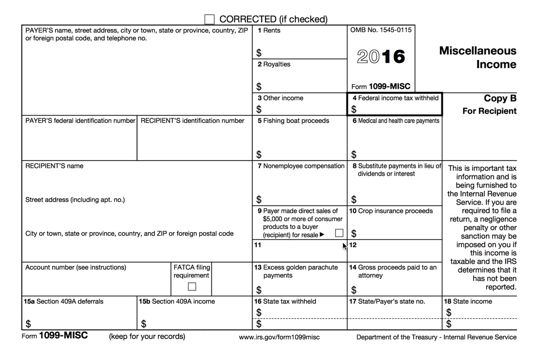 Irs 1099 Forms By Mail