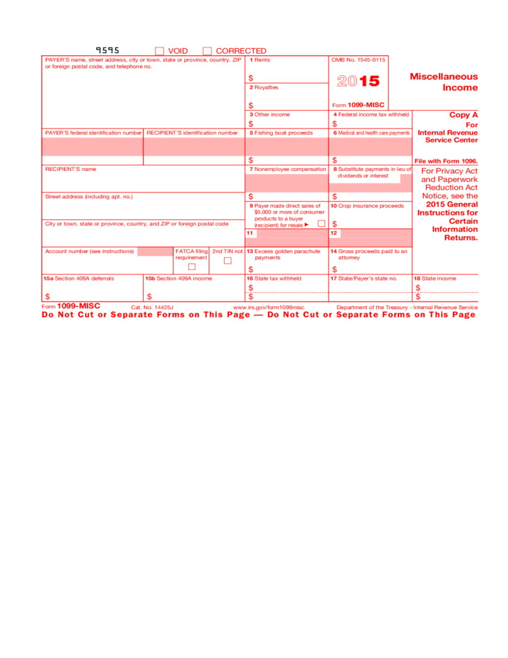 Irs 1099 Forms Download