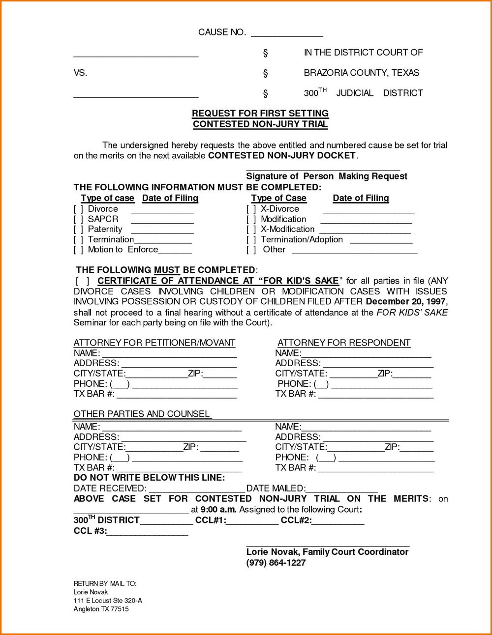 Nj Divorce Forms Free