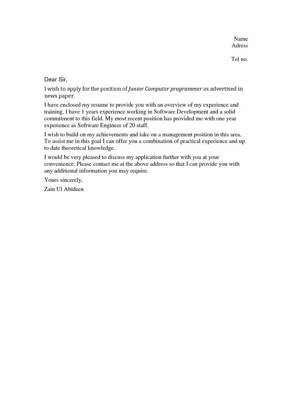 Sample Cover Letter For Assistant Teacher