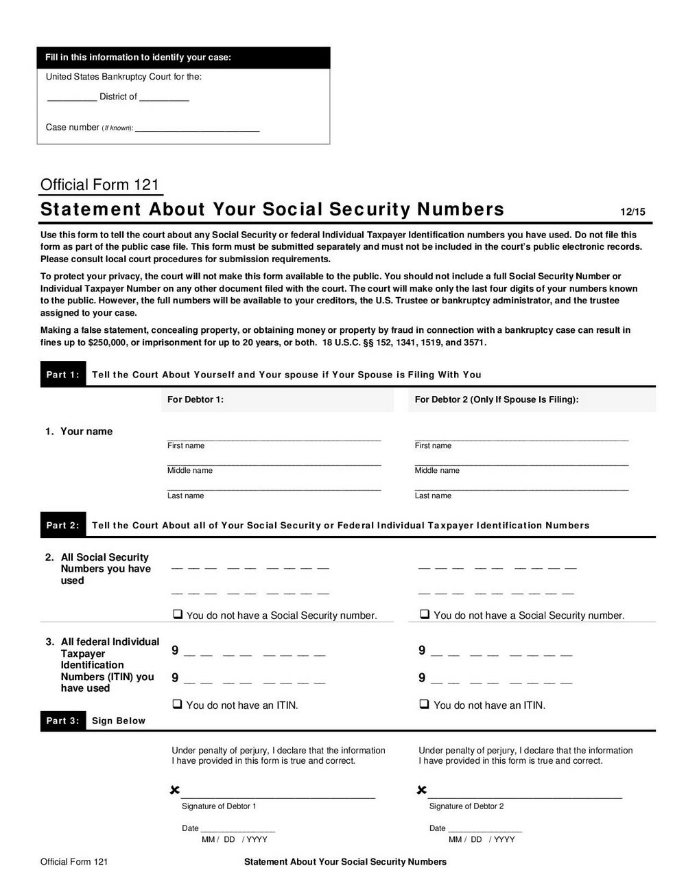 Ssi Application Forms Download