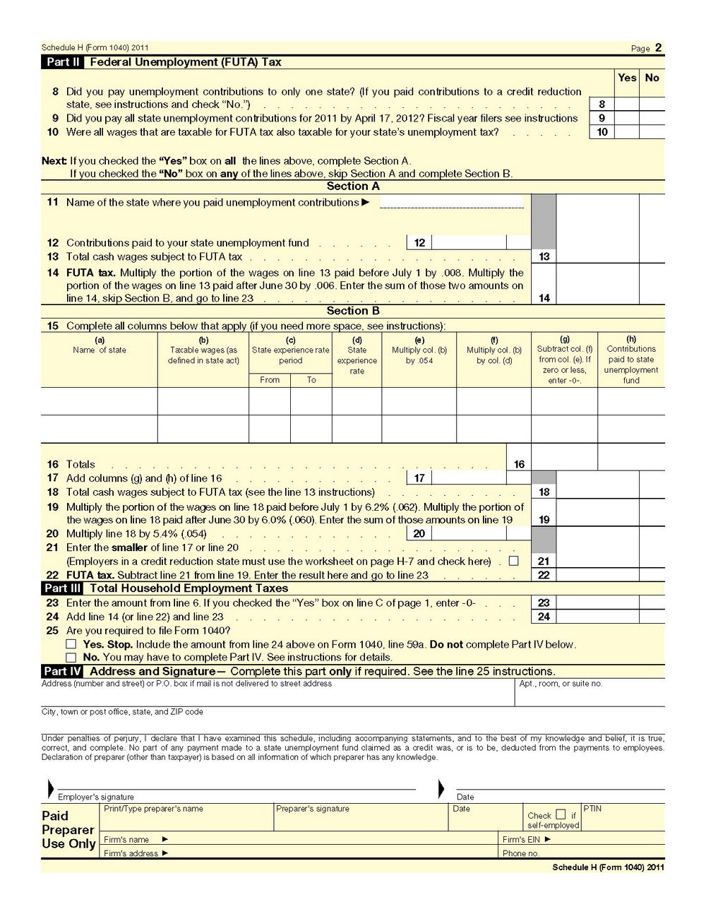 2013 Form 1040a Instructions