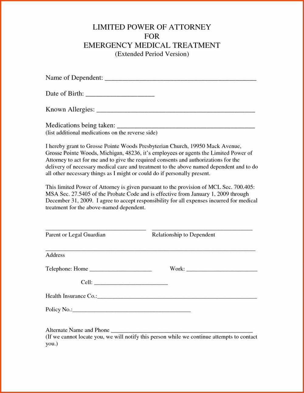 Arizona Power Of Attorney Forms