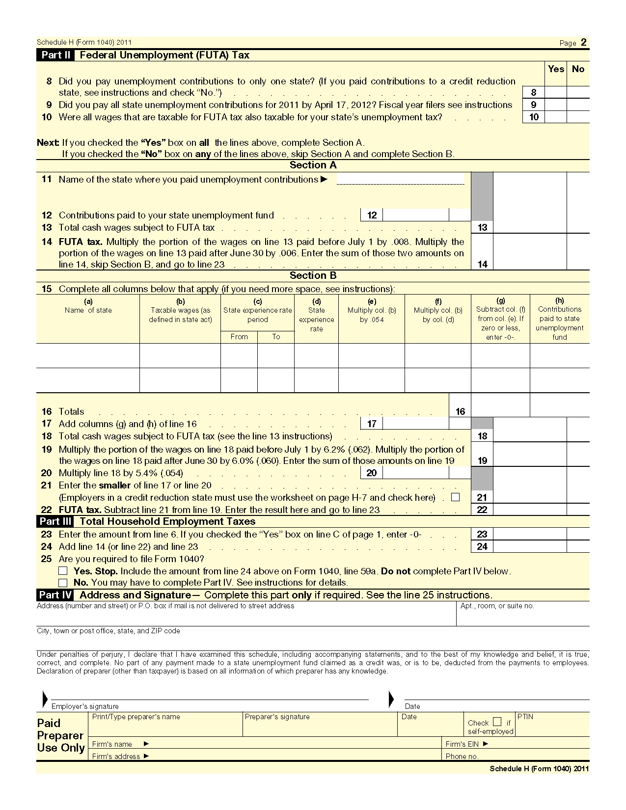 Fed Income Tax Forms 1040a