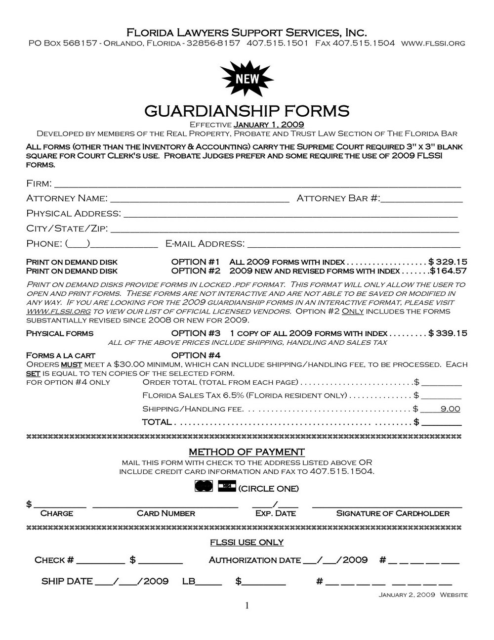 Free Temporary Guardianship Forms Arizona