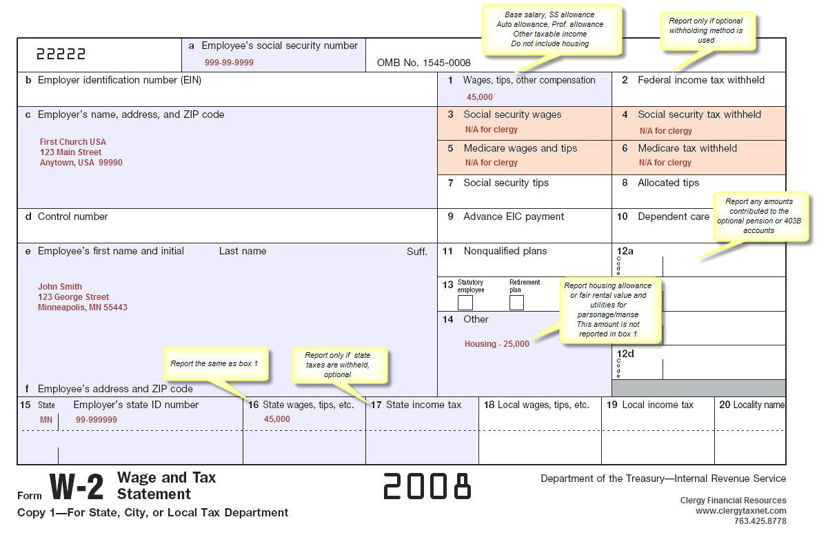Irs Forms W 2 2016