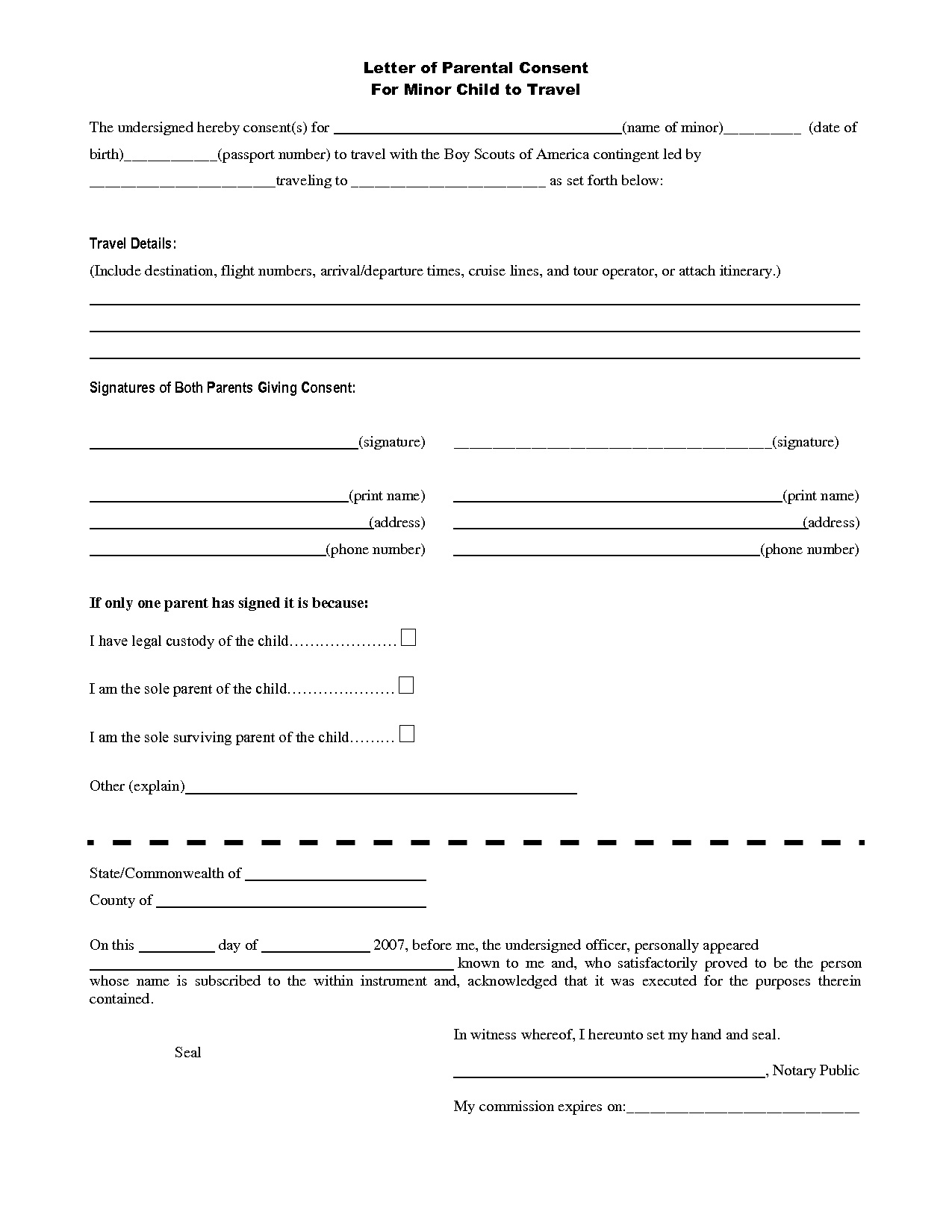 Nigerian Visa Application Form Pdf