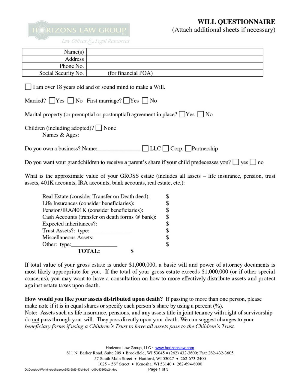 Postnuptial Agreement Form Virginia