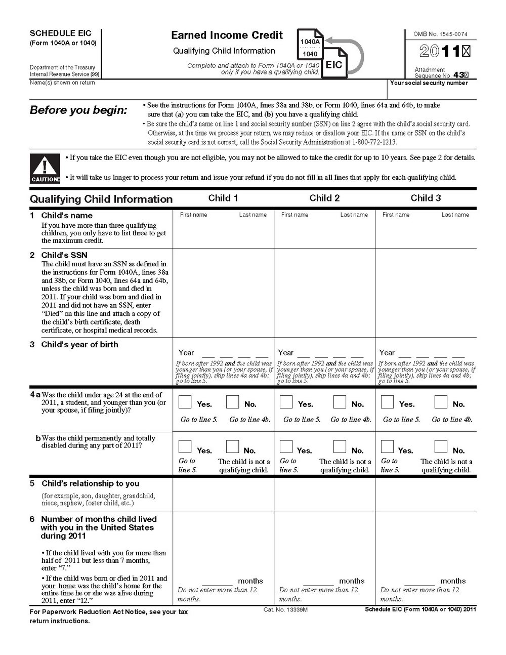 1040a 2013 Form