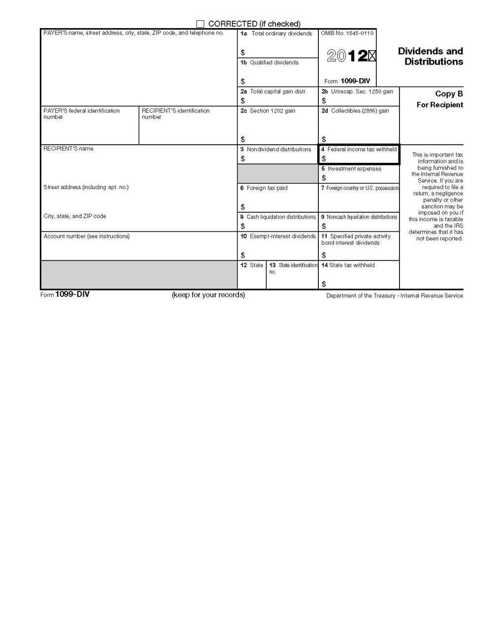 Form 1096 Fillable 2016