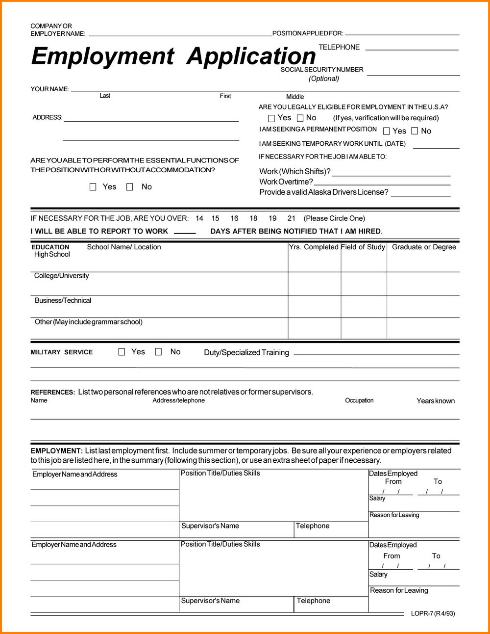 Goodwill Application Form Online