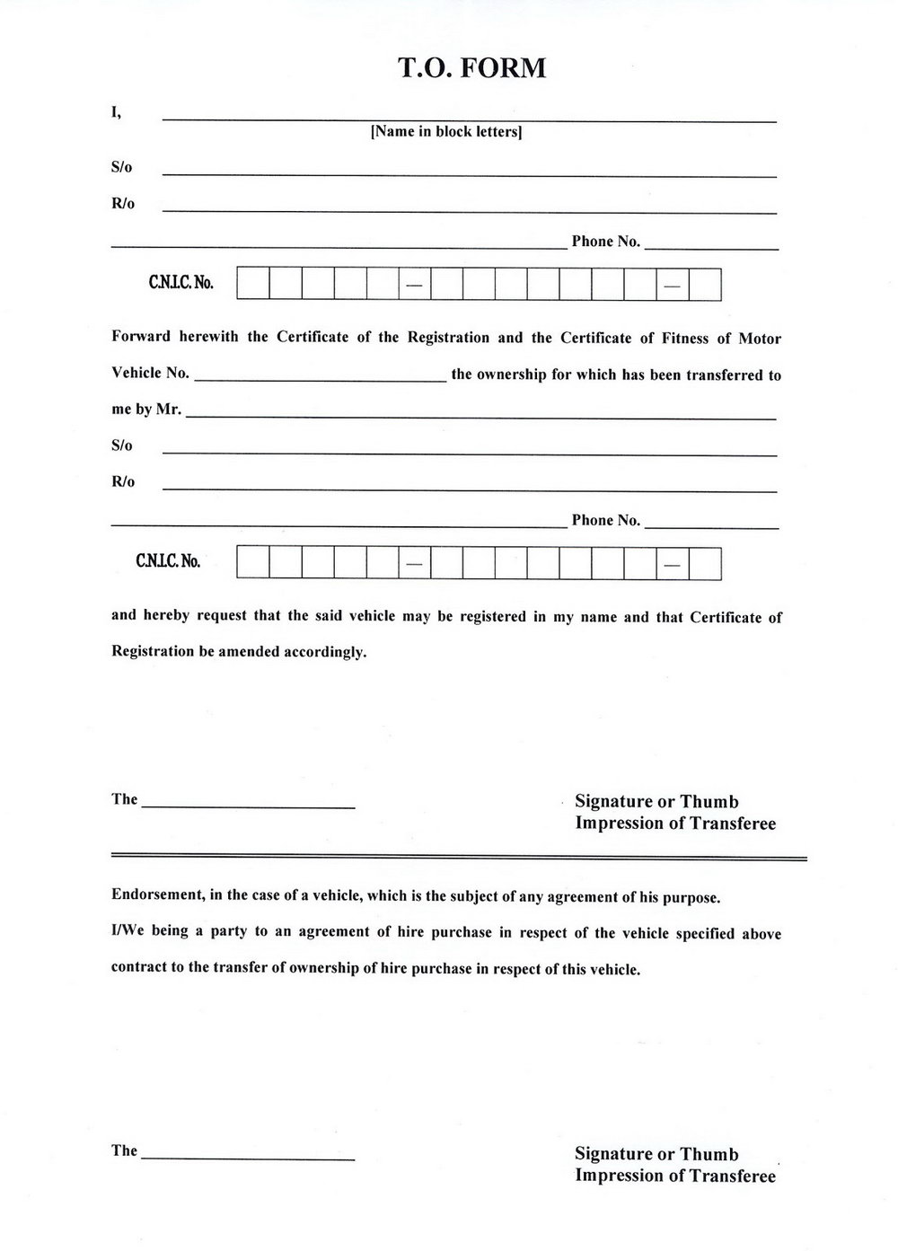 Isf Filing 10 2 Form