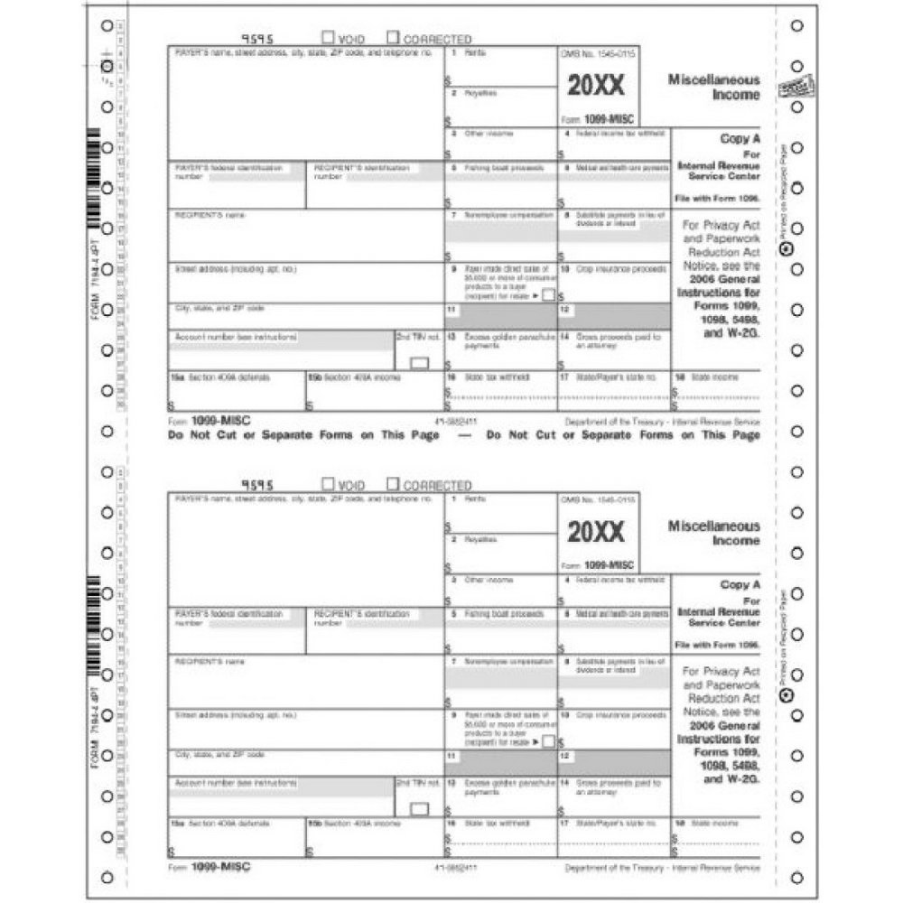 Order 1099 Misc Forms From Irs