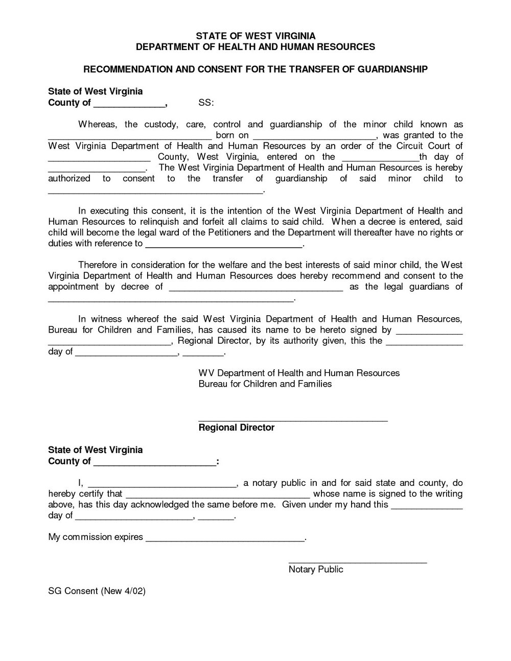 Texas Guardianship Forms