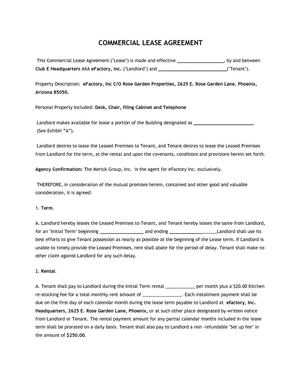 Commercial Lease Forms Forms Nzy5mg Resume Examples