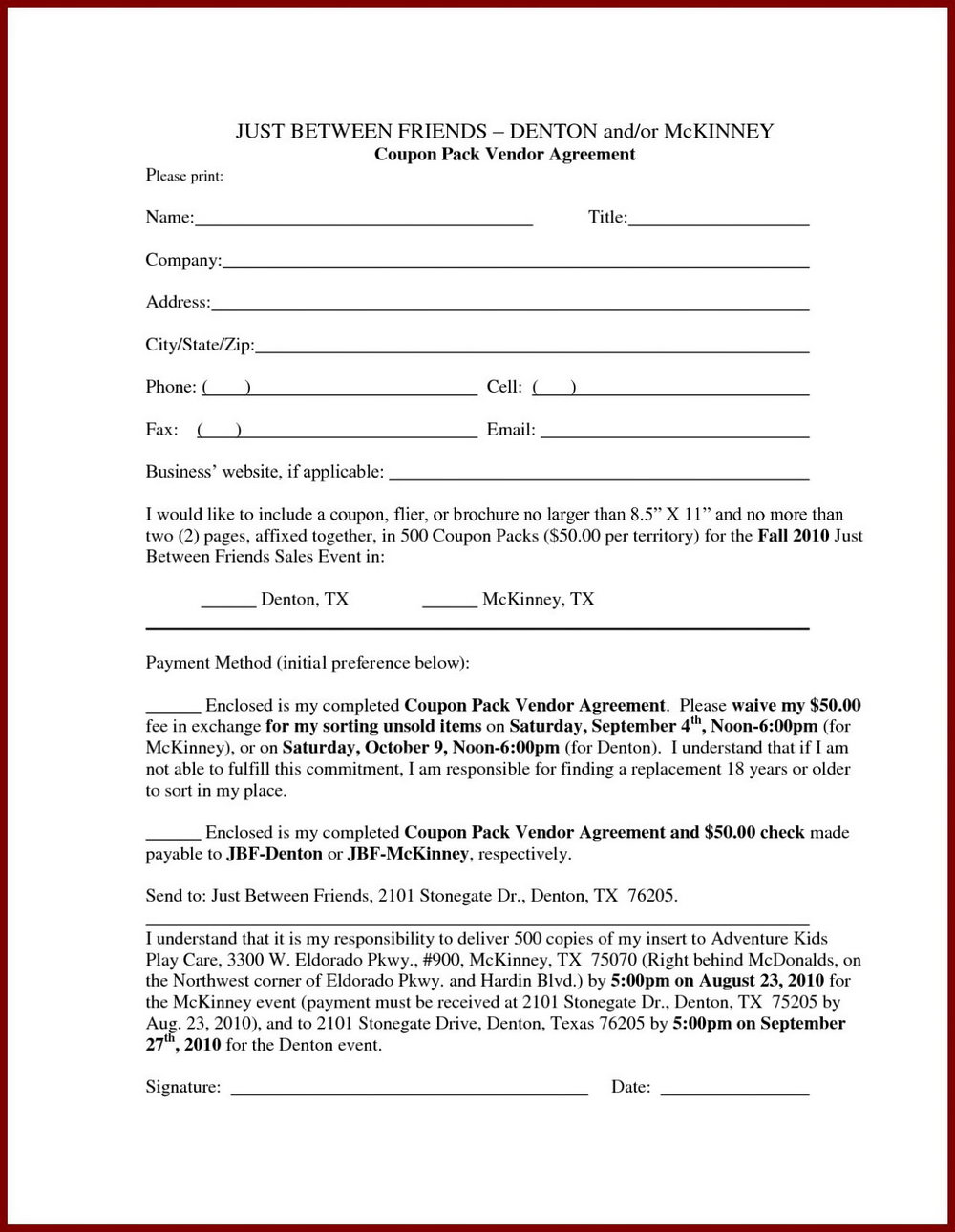 Prenup Forms Free