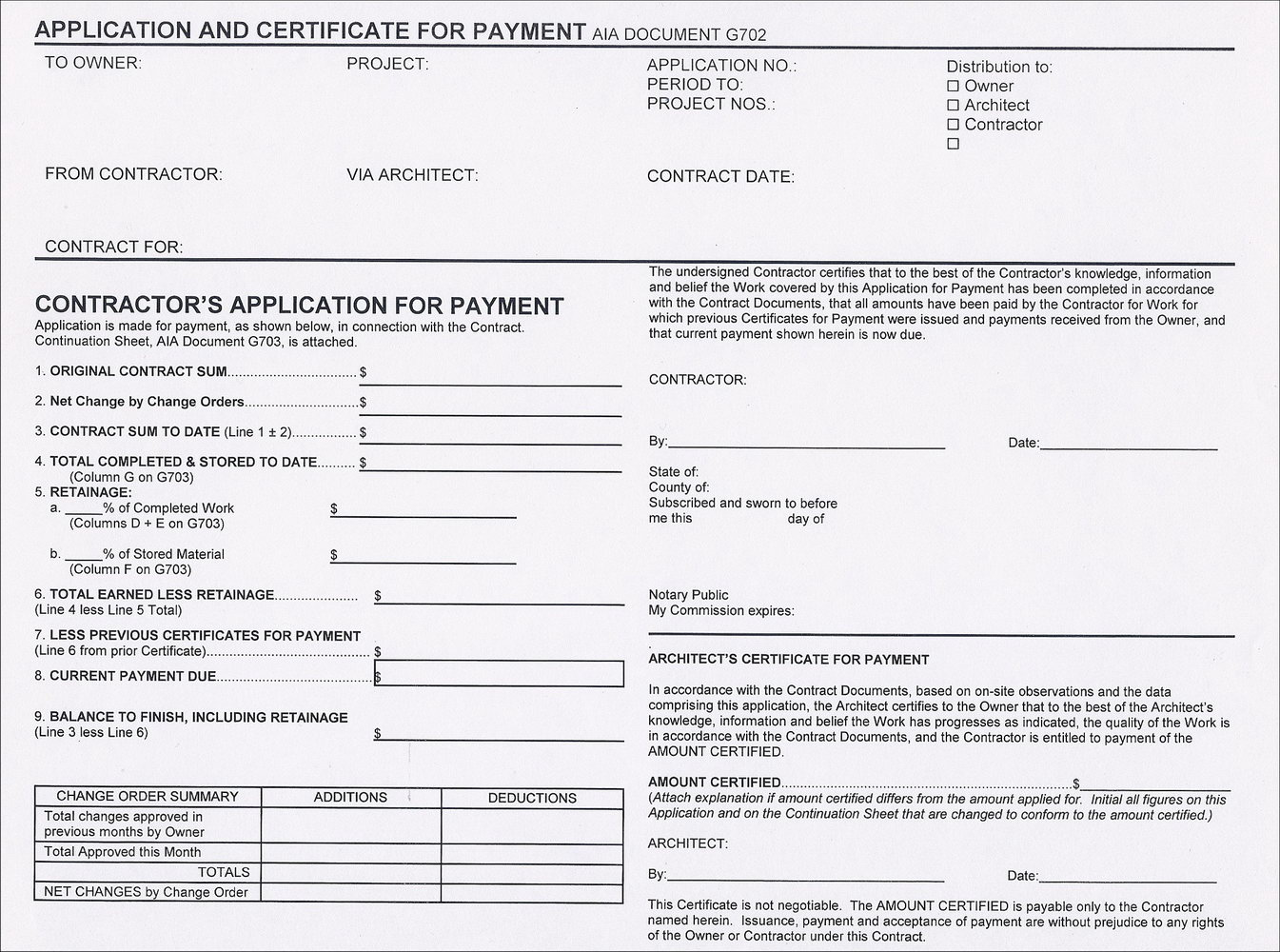 Aia G702 Form Free