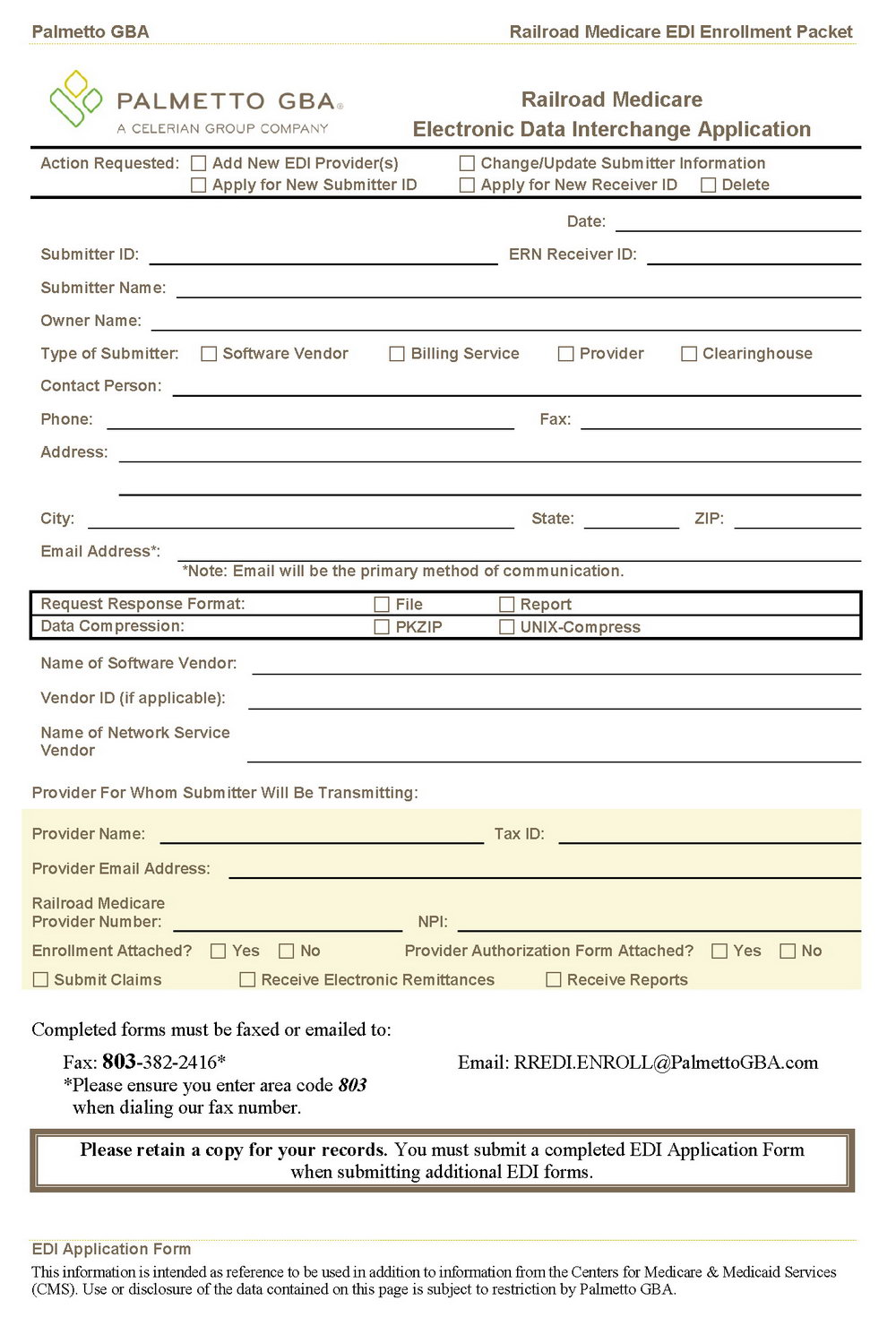 Application Form For Medicare Part B