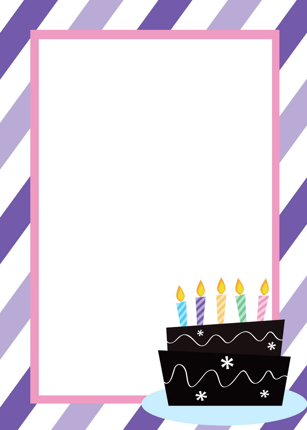 Birthday Party Invitation Template Free