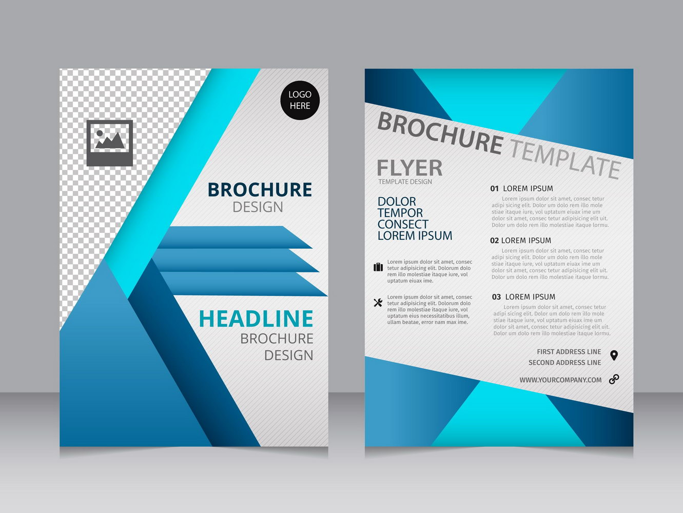 Blank Brochure Templates Free Download Word