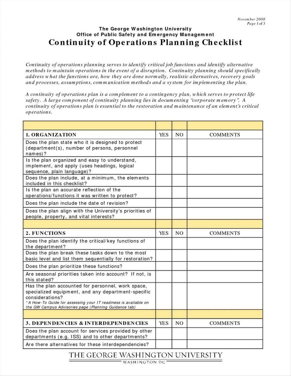 Modern Employee Handbook Template
