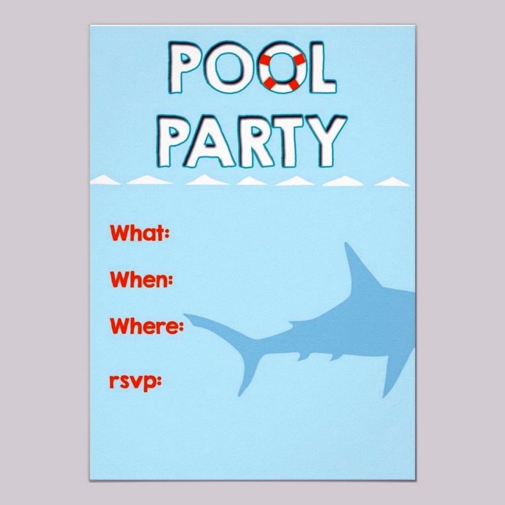 Party Invitation Templates To Print Free