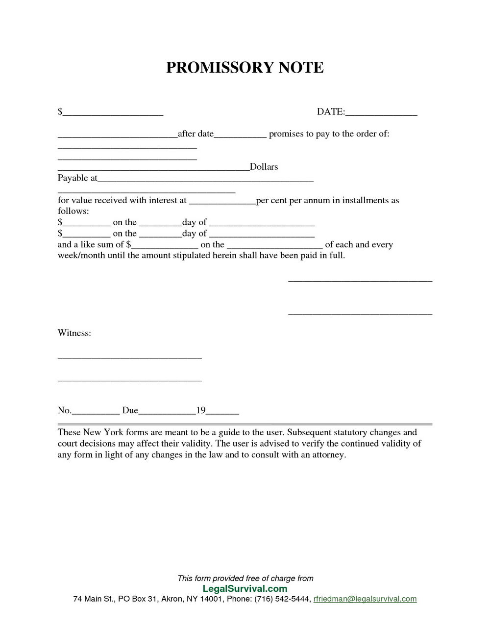 Promissory Note Template Philippines