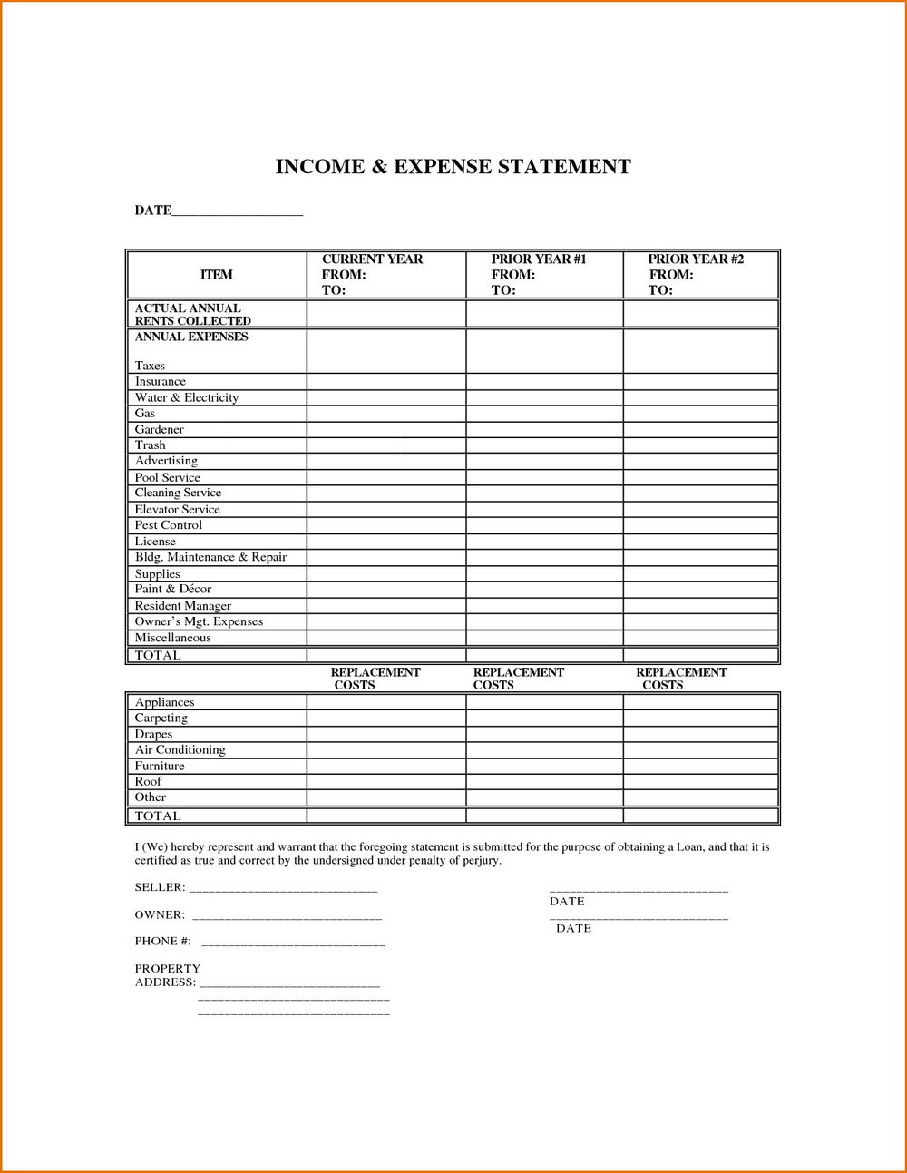 Self Employed Form Pdf