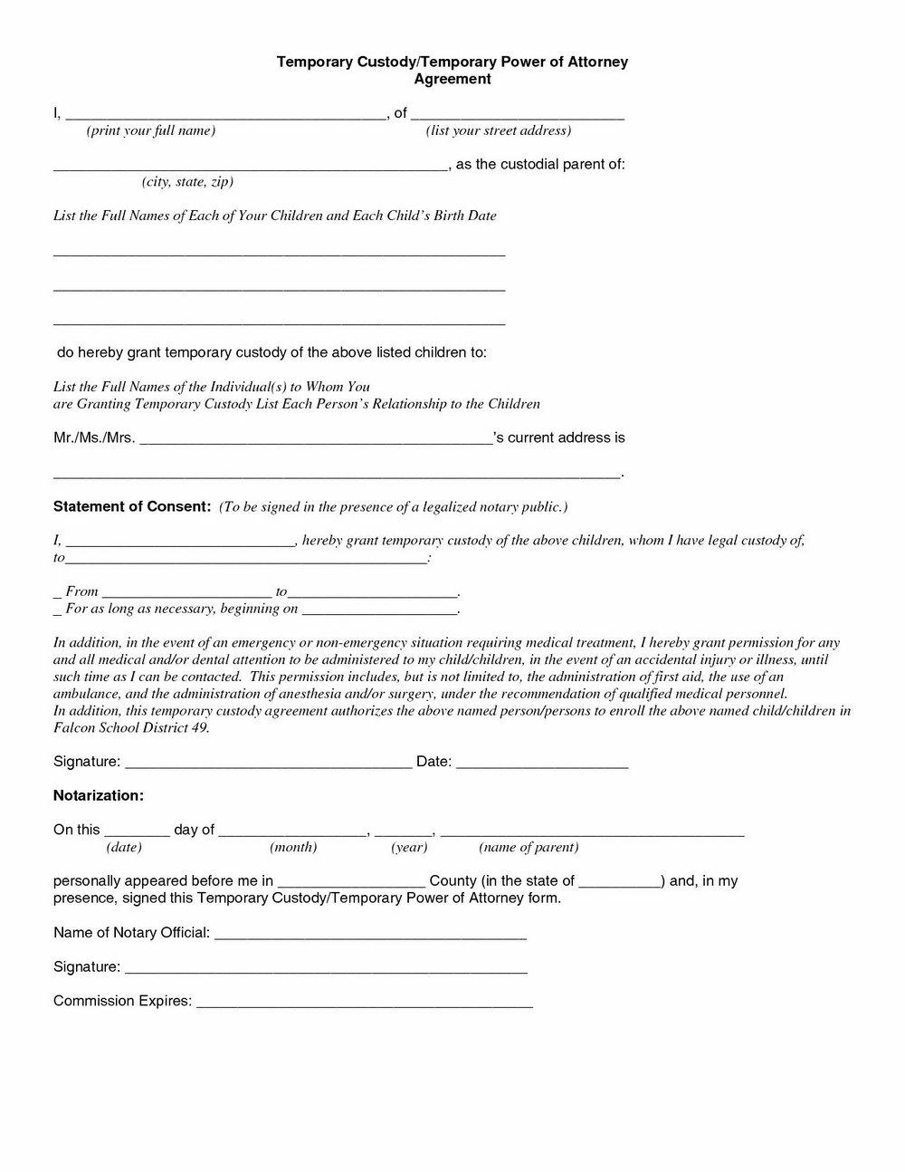 South Carolina Power Of Attorney Form Dmv