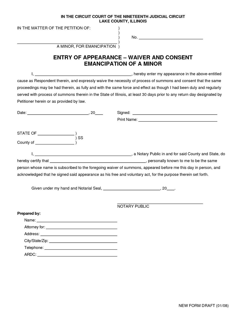 Sports Liability Waiver Form Template
