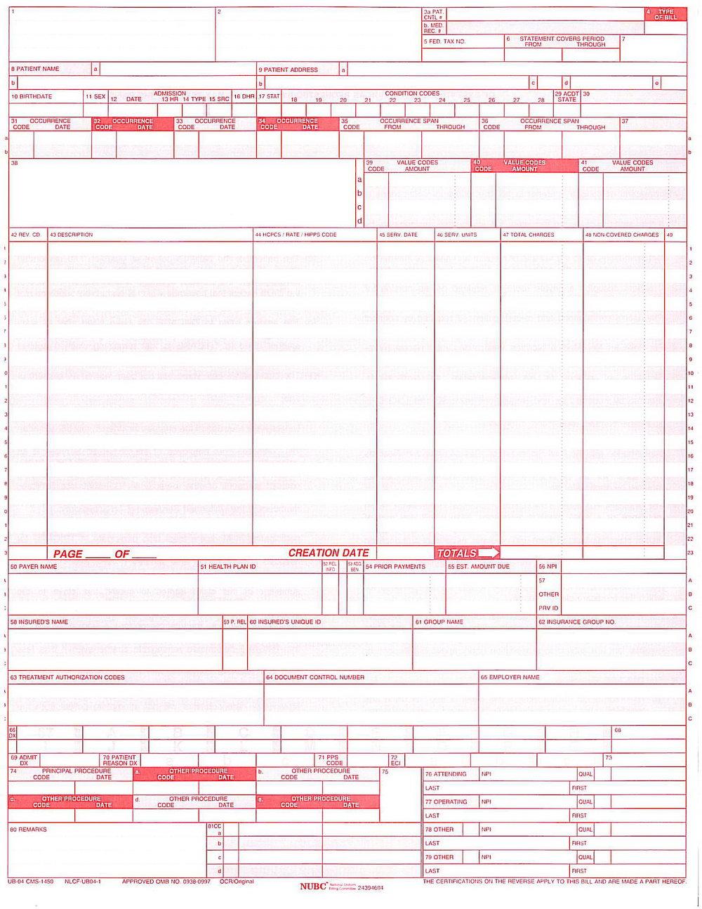 Ub 04 Forms