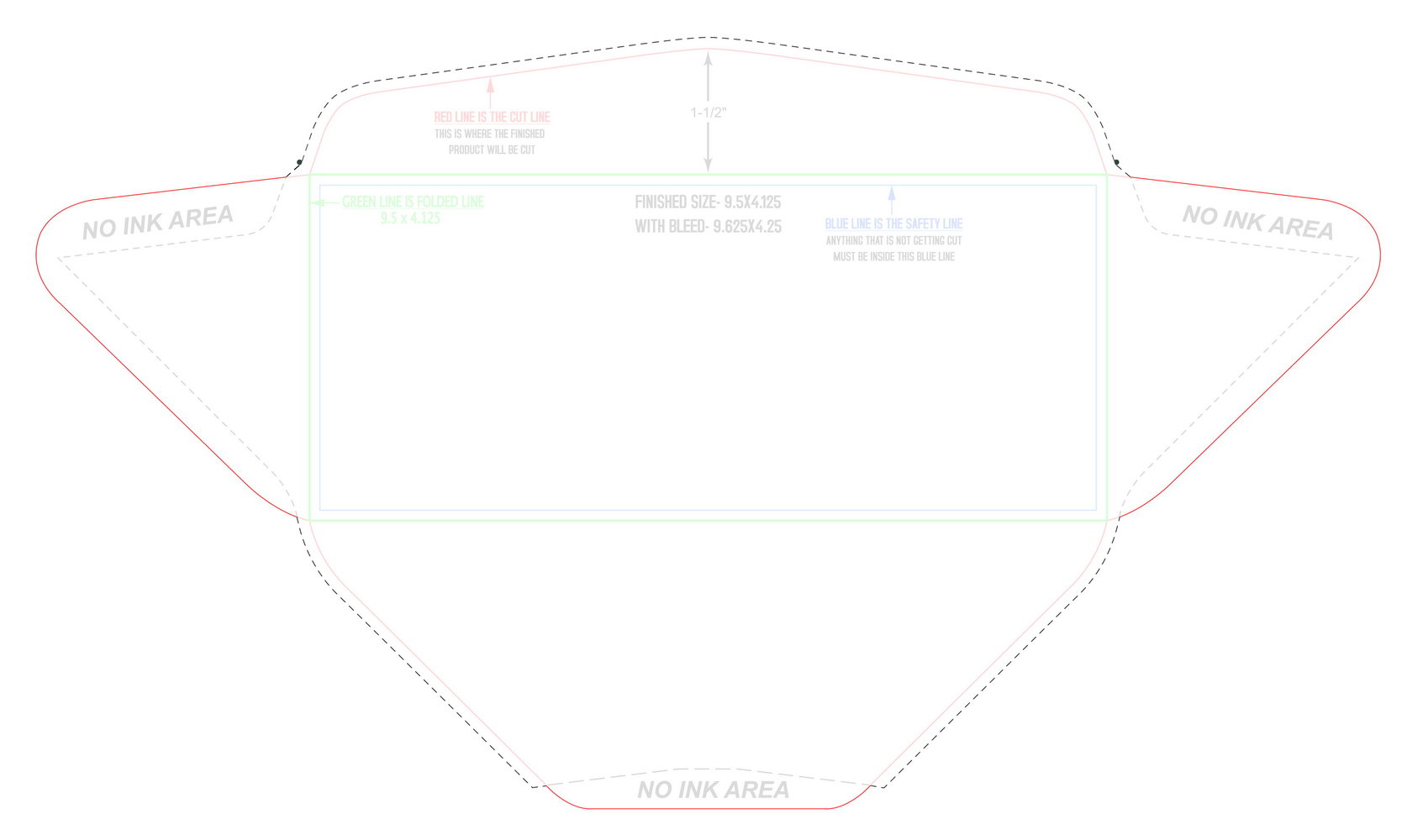 #10 Window Envelope Template Pdf