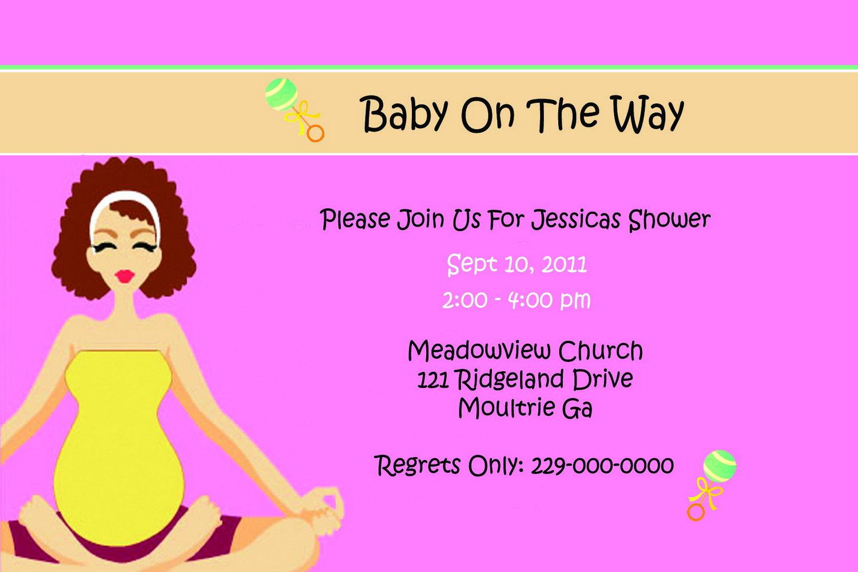 Baby Shower Boy Invitation Templates Free